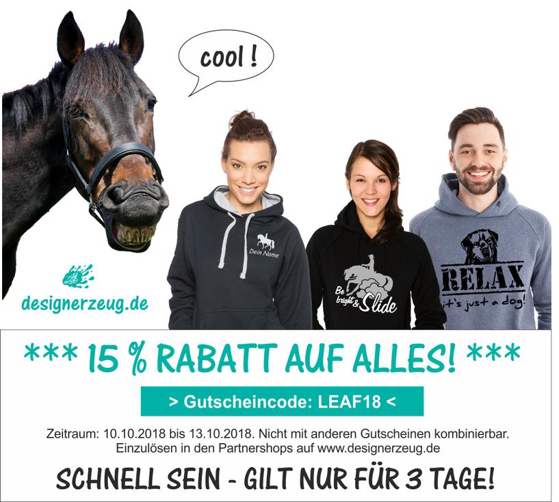 Nur für 3 Tage: 15 % Rabatt auf ALLES! - Newsblog designerzeug.de ...